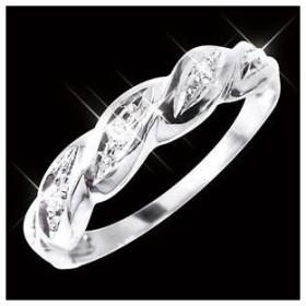 ds-1255833 ダイヤリング 指輪ツイストリング 7号 (ds1255833)