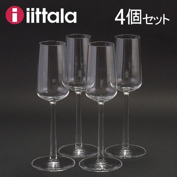 Essence Champagner Glas 4er Set Iittala