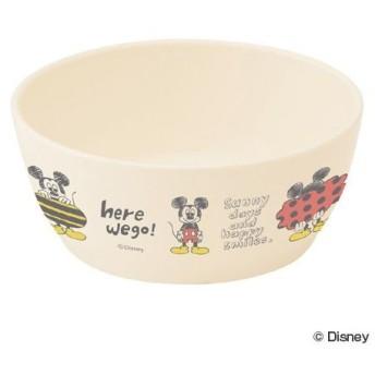 ■在庫限り・入荷なし■小鉢 汁椀 ミッキーマウス スケッチ 食洗機対応 子供用食器 キャラクター ( お椀 ボウル プラスチック製 )
