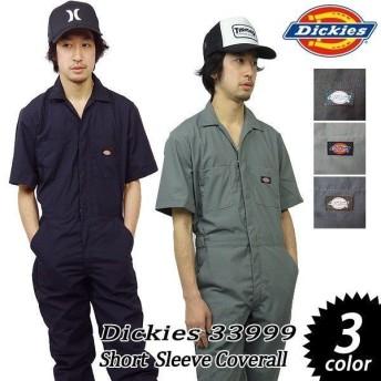 ディッキーズ つなぎ 半袖 カバーオール おすすめ ファッション 定番 メンズ 33999 デッキーズ Dickies 作業着 ツナギ
