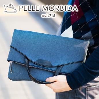 PELLE MORBIDA ペッレモルビダ Onda オンダ 2WAYクラッチバッグ PMO-ON003CB