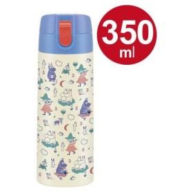 ■在庫限り・入荷なし■水筒 ムーミン ワンプッシュステンレスマグボトル 350ml ( ステンレスボトル 直飲み 保温 保冷 )