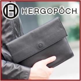 HERGOPOCH エルゴポック 11Series 11シリーズ プライムグレインレザー エンベロープバッグ(バッグインバッグ) 11-ENV-S