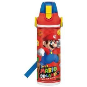 ■在庫限り・入荷なし■子供用水筒 スーパーマリオブラザーズ 直飲み保冷ステンレスボトル 600ml キャラクター