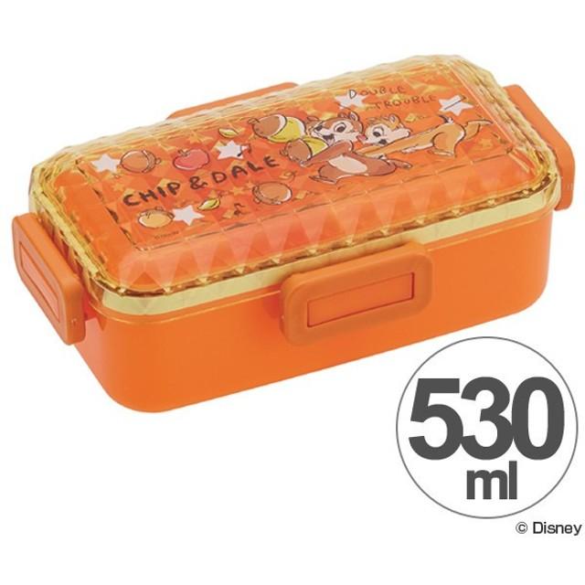 お弁当箱 チップ&デール グラフィティ ダイヤカット ふんわり弁当箱 1段 530ml ( 食洗機対応 弁当箱 ランチボックス )