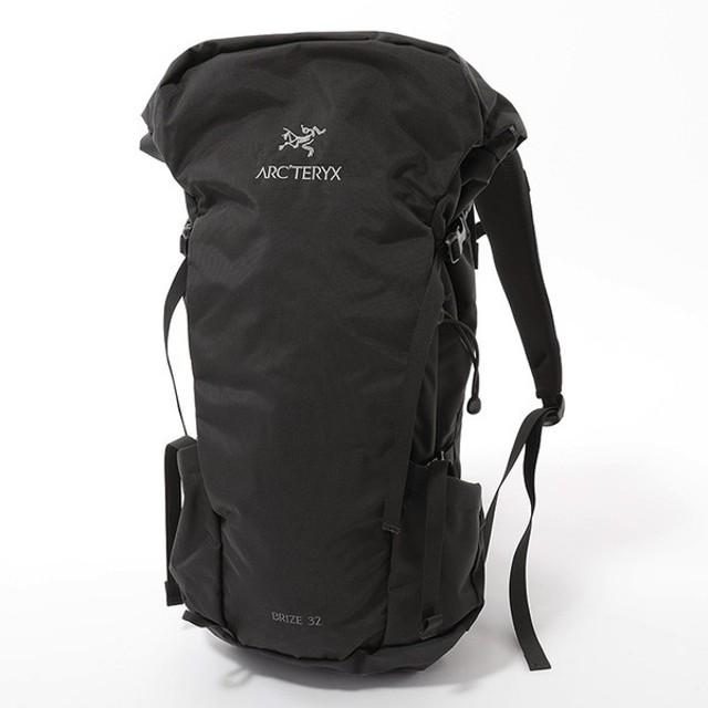 ARCTERYX アークテリクス 18795 Brize 32L Backpack ブライズ 32 バックパック リュック デイパック ハイキング バッグ カラーBlack メンズ