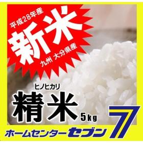 平成28年産 新米 5kg 精米 ひのひかり ヒノヒカリ 九州大分県産