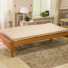 <シングル>西川3つの硬さで身体にフィット!ベッドの上に敷いても快適トリプルタッチ体圧分散軽量敷きふとん