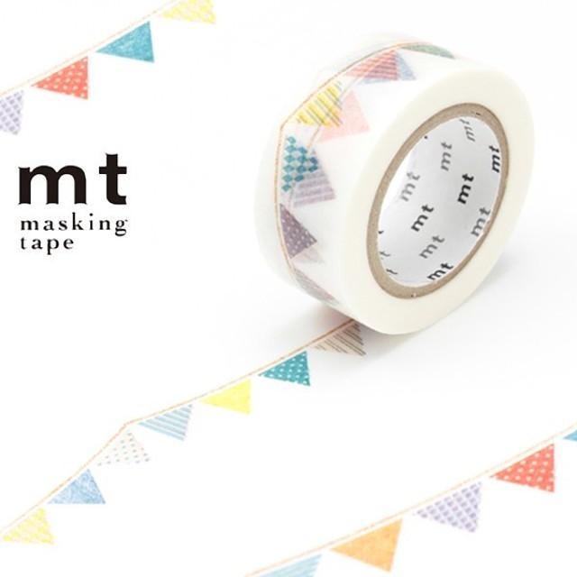 マスキングテープ mt ex フラッグ 幅20mm ( カモ井加工紙 マステ 和紙テープ )