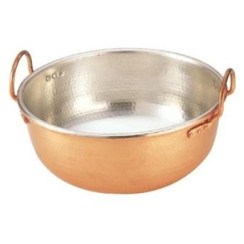 銅鍋 銅サワリ鍋 尺0 ENDO 高さ150 内径:300/業務用/新品/送料無料