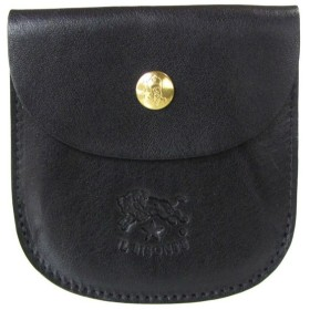 イルビゾンテ IL BISONTE 財布 二つ折り財布 カウハイドレザー ブラック C0405 P 153 sale05