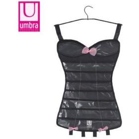 アンブラ UMBRA リトル ブラック コルセット ジュエリー LITTLE BLACK CORSET JEWELRY ブラック Black 299037-040 アクセサリーホルダー
