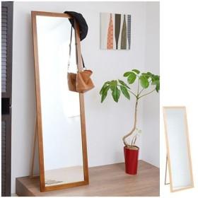 ■在庫限り・入荷なし■スタンドミラー 幅 48 cm 天然木フレーム