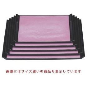 お盆 ウェーブ盆ピンク雲流尺2寸 NS加工 /グループI