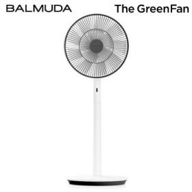 バルミューダ 扇風機 The GreenFan グリーンファン DCモーター サーキュレーター EGF-1600-WK ホワイト×ブラック