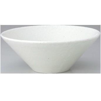 水明 粉引 24.5cmボール 高さ9.3(mm)/業務用/新品