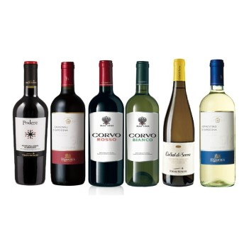 マルシェセレクト イタリアコストパフォーマンスワイン6本セット