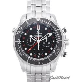 オメガ OMEGA シーマスター300 コーアクシャル GMT クロノグラフ 212.30.44.52.01.001 新品 時計 メンズ