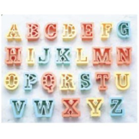 PCクッキー抜型 アルファベット 26pcs No.1733/グループT