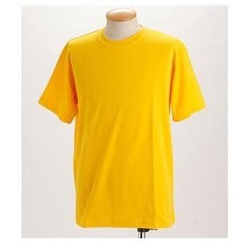 ds-198375 ドライメッシュTシャツ 2枚セット 白+イエロー Sサイズ (ds198375)