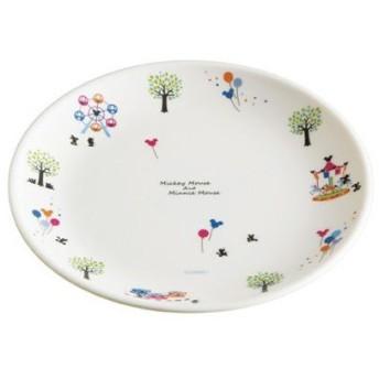 ■在庫限り・入荷なし■パン皿 ミッキーマウス ファンタジー メラミンパン皿 ( 子供用食器 メラミン )