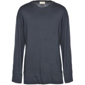 《期間限定セール開催中!》AMERICAN VINTAGE メンズ スウェットシャツ 鉛色 S コットン 100%