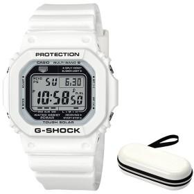 (セット)(国内正規品)(カシオ)CASIO 腕時計 GW-M5610MW-7JF (ジーショック)G-SHOCK メンズ Marine White&腕時計ケース1本用(メール便不可)
