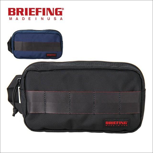 並行輸入品 Briefing ブリーフィング ワンジップポーチ BRF234219