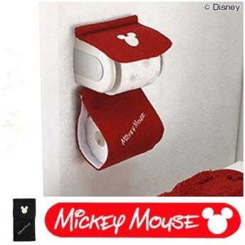 ■在庫限り・入荷なし■ペーパーホルダーカバー シャルマンミッキー ミッキーマウス キャラクター トイレ用品 ( トイレットペーパー ホルダー カバー