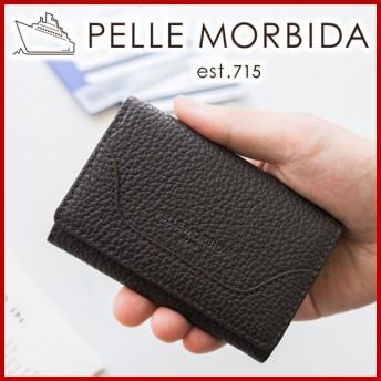 PELLE MORBIDA ペッレモルビダ Barca バルカ シュリンクレザー カードケース 名刺入れ PMO-BA005