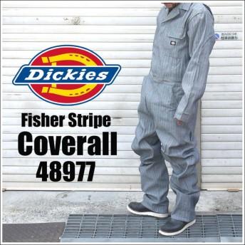 つなぎ Dickies ディッキーズ コットン カバーオール メンズ 4897 おしゃれ オーバーオール 作業着 オールインワン 流行