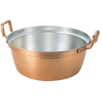 EBM 銅 段付鍋 錫引きあり 30cm/業務用/新品