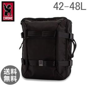 クローム Chrome リュック 2way トラベルバッグ 42-48L バックパック BG-209 All Black Macheto Travel Pack トラベルパック 旅行 出張【5%還元】