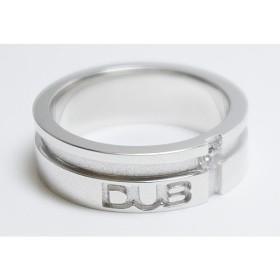DUB collection(ダブコレクション) mat line cross ring(men's) メンズリング【DUBj-158-2】