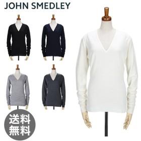 【5%還元】【あすつく】ジョンスメドレー John Smedley FUTURA Vネック 長袖 S M L レディース