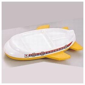 メラミン ランチ皿 ジャンボジェット イエロー (業務用食器)(同梱グループA)