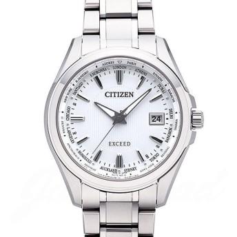 シチズン CITIZEN エクシード エコドライブ 電波時計 cb0100-52A 【新品】 時計 メンズ