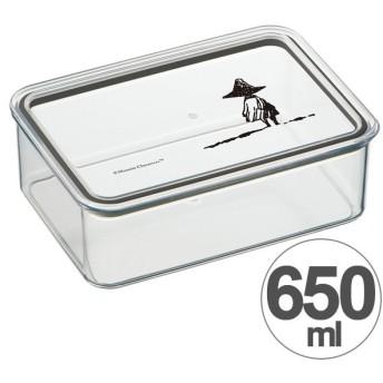 お弁当箱 システムフードケース ムーミン スナフキン 650ml キャラクター ( 保存容器 保存ケース 食洗機対応 )