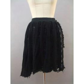 イレギュラーヘムのダメージスカート(URARA)