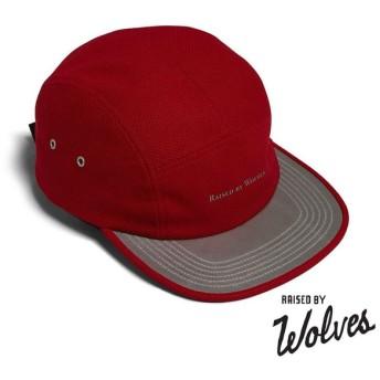 【RAISED BY WOLVES/レイズドバイウルブス】3M VISOR CAMP CAP ストラップバックキャップ / RED DIAMOND PRO