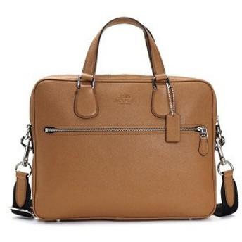 コーチ coach ブリーフケース/ビジネスバッグ 71710 hudson bag 5 sv/saddle ca/br