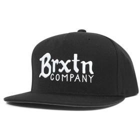 ブリクストン スナップバックキャップ バーリー ブラック 帽子