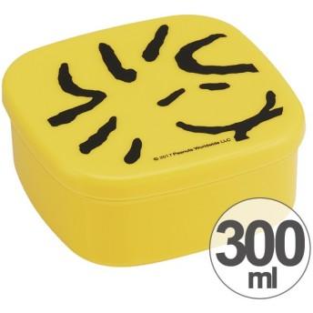 お弁当箱 デザートケース シール容器 スヌーピー ウッドストック フェイス 300ml 子供用 キャラクター ( フルーツケース ランチボックス 果物入れ )