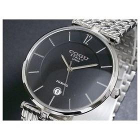 COGU コグ 腕時計 時計 スリムメッシュ G1212-BK