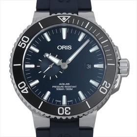 48回払いまで無金利 オリス アクイス スモールセコンド デイト 743 7733 4135R 新品 メンズ 腕時計