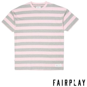 【FAIRPLAY BRAND/フェアプレイブランド】DERYK カットソーTシャツ / PINK