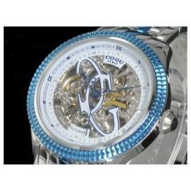 COGU コグ 腕時計 時計 自動巻き フルスケルトン FM103-BL