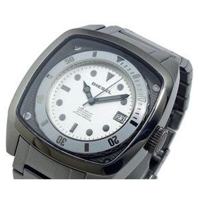 ディーゼル diesel ガンメタルブレス 腕時計 dz1494