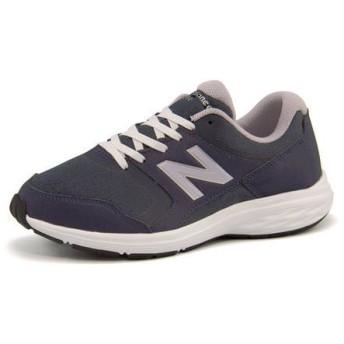 new balance(ニューバランス) WW550【幅広】 170550 NP1 ネイビー/パープル|スニーカー レディース