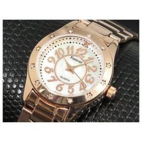 フォーエバー 腕時計 レディース 天然ダイヤ FL-602-6